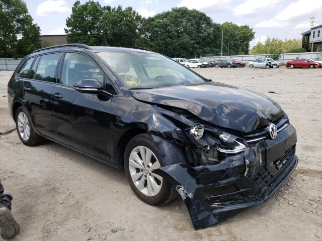 Vehiculos salvage en venta de Copart North Billerica, MA: 2017 Volkswagen Golf Sport