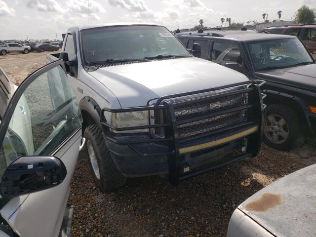 Salvage cars for sale from Copart Mercedes, TX: 2005 Ford F250 Super