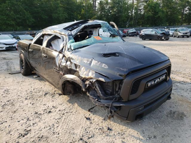 Salvage cars for sale from Copart Candia, NH: 2017 Dodge RAM 1500 Rebel