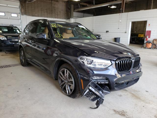 Salvage cars for sale from Copart Blaine, MN: 2021 BMW X3 Xdrivem