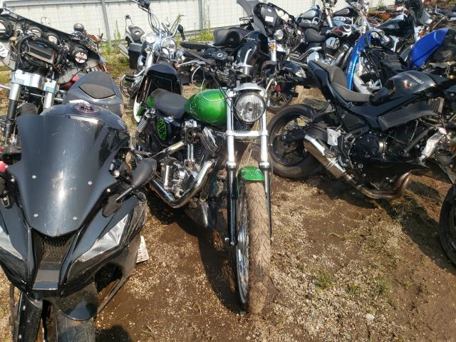 Salvage cars for sale from Copart Pekin, IL: 2007 Harley-Davidson XL1200 C