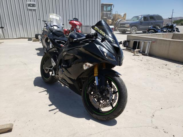 Salvage cars for sale from Copart Reno, NV: 2015 Kawasaki ZX636 E