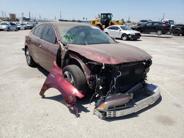 Honda Insight salvage cars for sale: 2019 Honda Insight