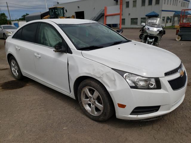 Salvage cars for sale from Copart Montreal Est, QC: 2011 Chevrolet Cruze LT