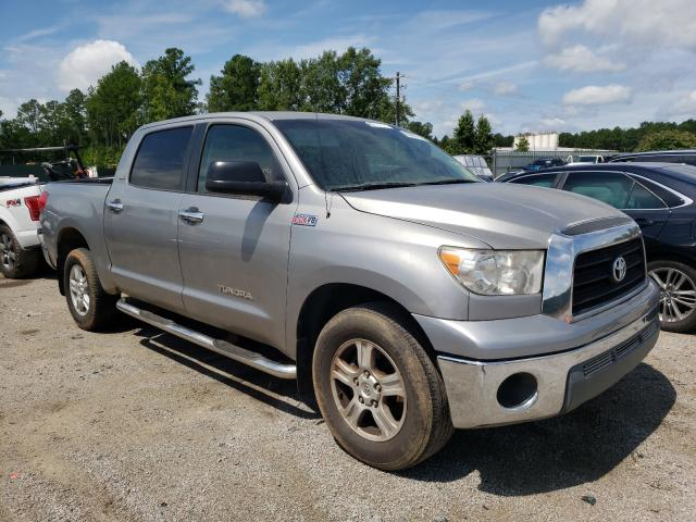 Salvage cars for sale from Copart Harleyville, SC: 2007 Toyota Tundra CRE