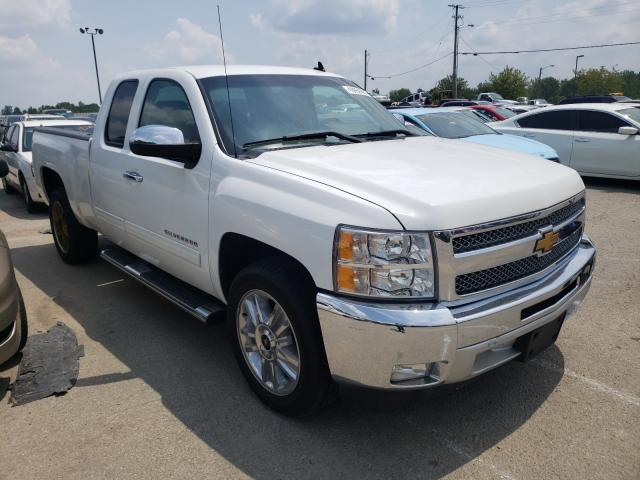 Salvage trucks for sale at Louisville, KY auction: 2013 Chevrolet Silverado