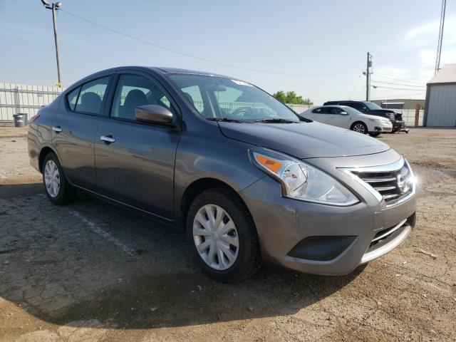 Salvage cars for sale from Copart Lexington, KY: 2019 Nissan Versa S