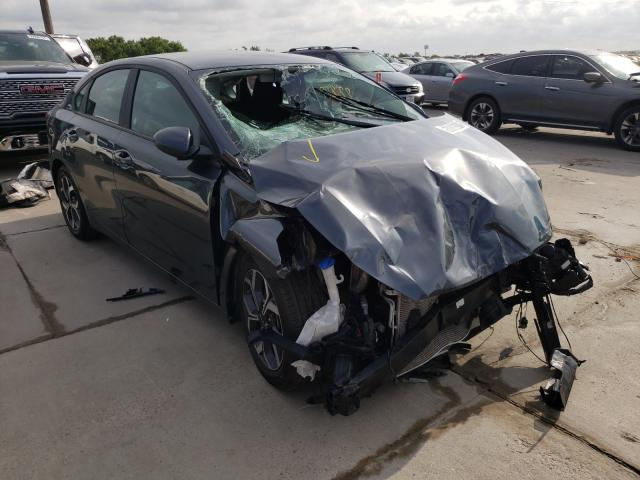 Salvage cars for sale from Copart Grand Prairie, TX: 2020 KIA Forte FE