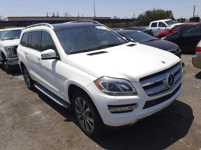 Salvage cars for sale at Las Vegas, NV auction: 2015 Mercedes-Benz GL 450 4matic