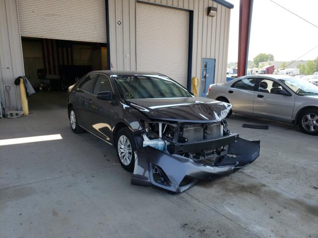 Salvage cars for sale at Billings, MT auction: 2012 Toyota Camry Base