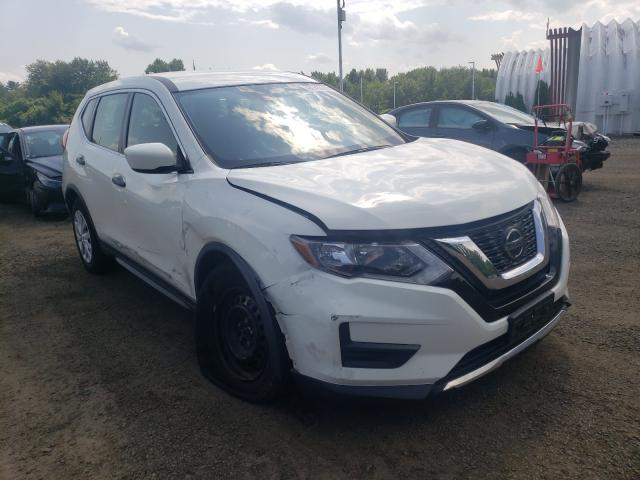 Salvage cars for sale at East Granby, CT auction: 2019 Nissan Rogue S