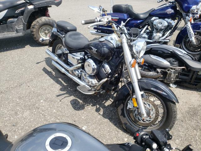 Salvage motorcycles for sale at Pennsburg, PA auction: 2004 Yamaha XVS65 Base