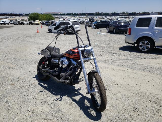 Salvage cars for sale from Copart Antelope, CA: 2010 Harley-Davidson Fxdwg