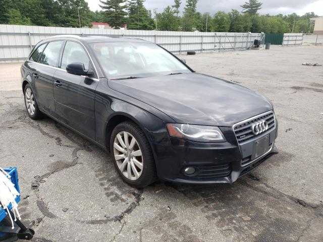 Salvage cars for sale at Exeter, RI auction: 2011 Audi A4 Premium