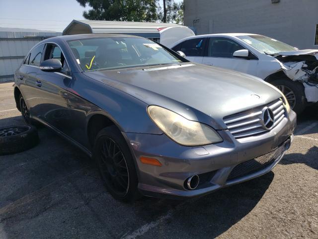 Vehiculos salvage en venta de Copart Rancho Cucamonga, CA: 2008 Mercedes-Benz CLS 550