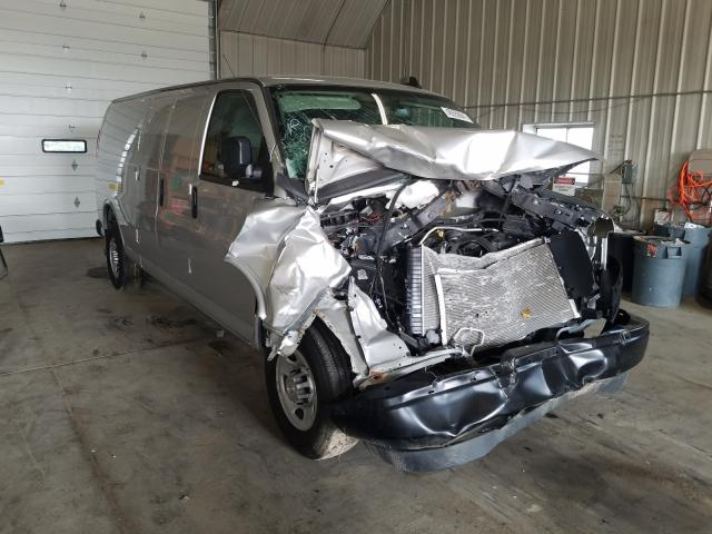 Salvage cars for sale from Copart Madison, WI: 2021 Chevrolet Express G2