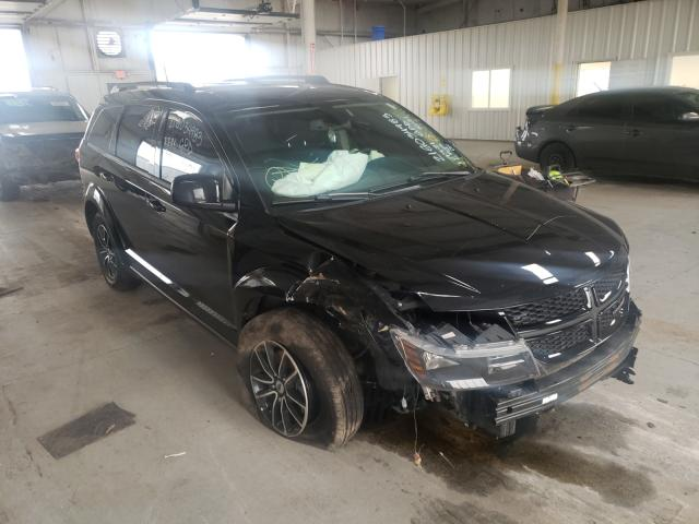 Salvage cars for sale from Copart Dyer, IN: 2019 Dodge Journey SE