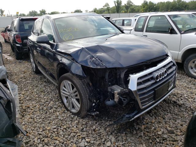 Vehiculos salvage en venta de Copart Kansas City, KS: 2018 Audi Q5 Premium