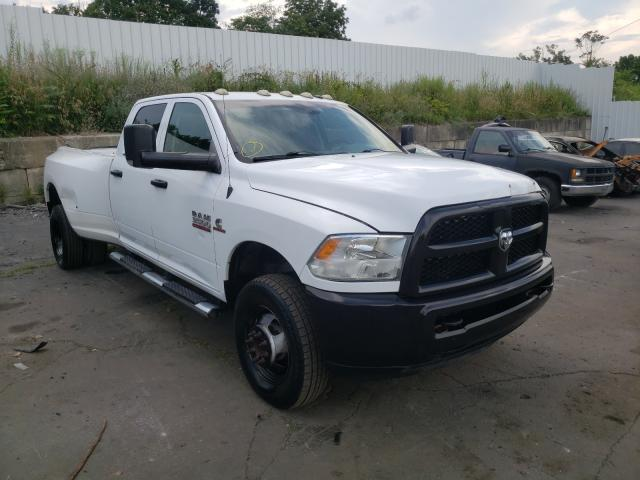 Salvage cars for sale from Copart Marlboro, NY: 2015 Dodge RAM 3500 ST