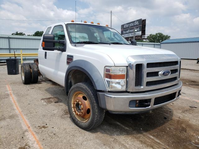 Salvage cars for sale from Copart Wichita, KS: 2008 Ford F450 Super