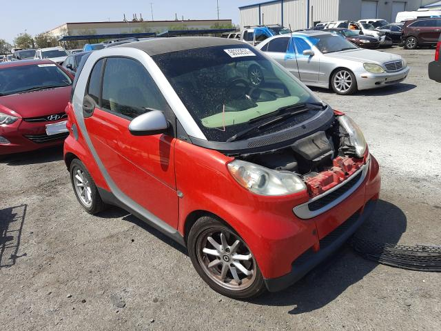 Smart salvage cars for sale: 2008 Smart Fortwo PUR