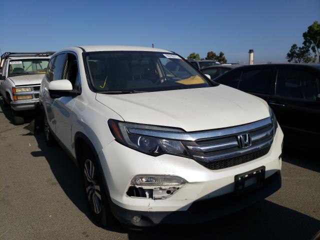 Vehiculos salvage en venta de Copart Martinez, CA: 2016 Honda Pilot EX