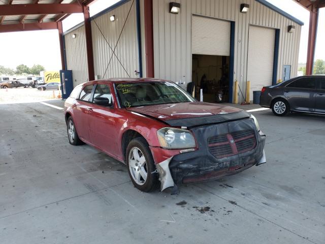 Dodge salvage cars for sale: 2005 Dodge Magnum SXT