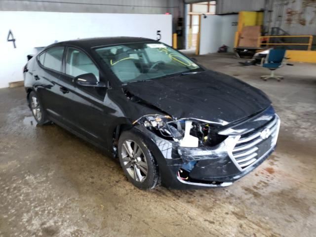 Salvage cars for sale at Candia, NH auction: 2017 Hyundai Elantra SE