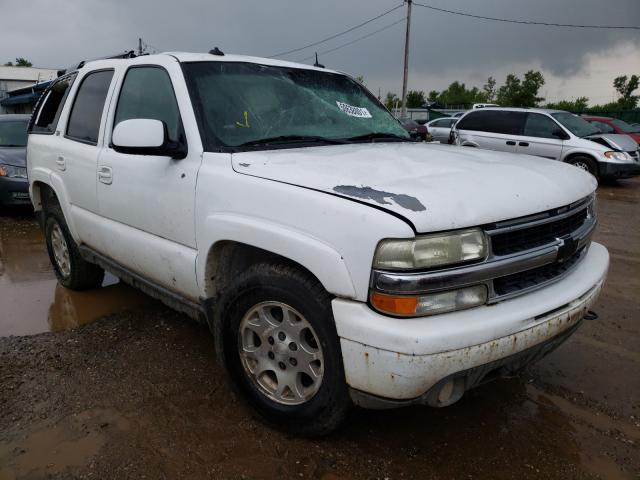 Salvage cars for sale from Copart Pekin, IL: 2003 Chevrolet Tahoe K150