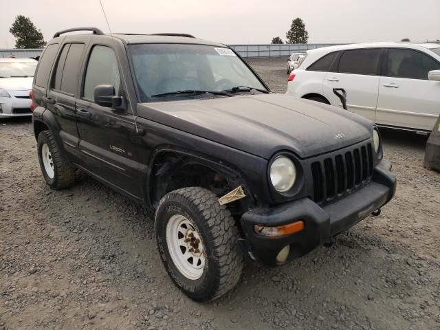 Salvage cars for sale from Copart Airway Heights, WA: 2002 Jeep Liberty LI