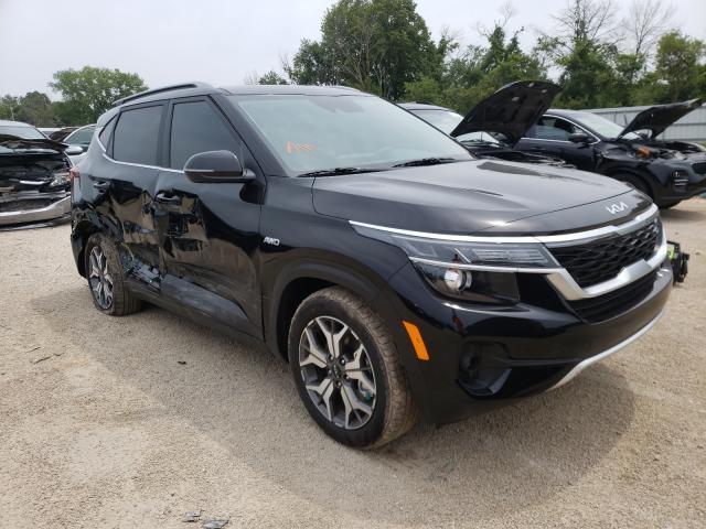 KIA salvage cars for sale: 2022 KIA Seltos EX