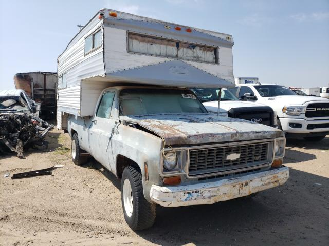 Clean Title Cars for sale at auction: 1973 Chevrolet C20