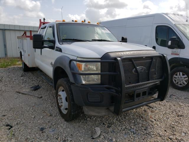 Salvage cars for sale from Copart Temple, TX: 2012 Ford F550 Super