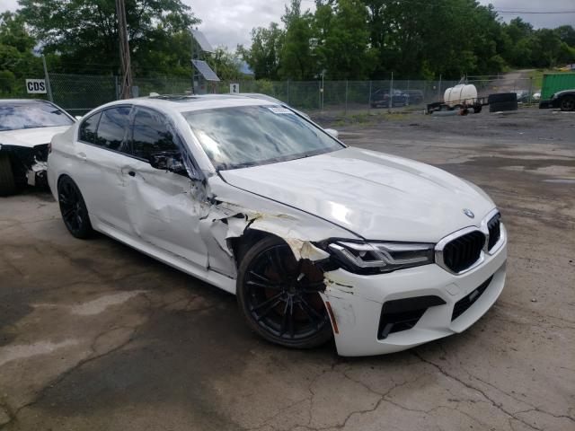 BMW M5 salvage cars for sale: 2021 BMW M5