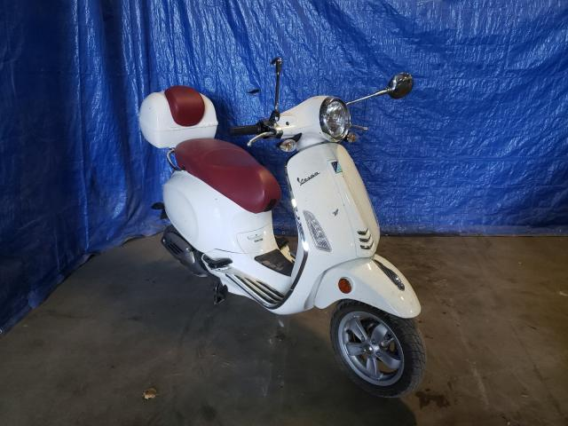 Salvage 2015 VESPA SCOOTER - Small image. Lot 50636241