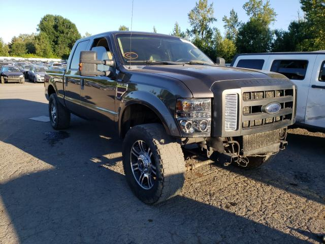 Salvage cars for sale from Copart Portland, OR: 2009 Ford F250 Super
