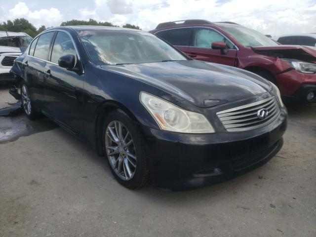 Salvage cars for sale from Copart Riverview, FL: 2007 Infiniti G35