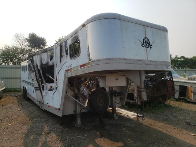 Salvage cars for sale from Copart Pekin, IL: 2001 Exiss Horse Trailer
