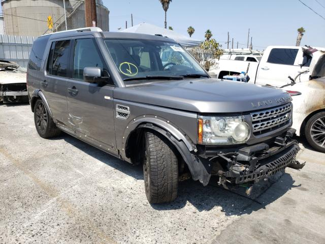 Salvage cars for sale from Copart Wilmington, CA: 2010 Land Rover LR4 HSE LU