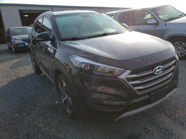 Salvage cars for sale from Copart Chambersburg, PA: 2017 Hyundai Tucson Limited