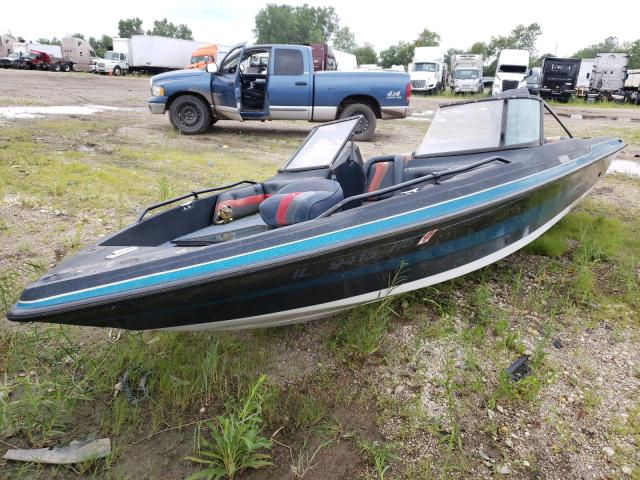 Salvage boats for sale at Elgin, IL auction: 1989 Stratos Boat