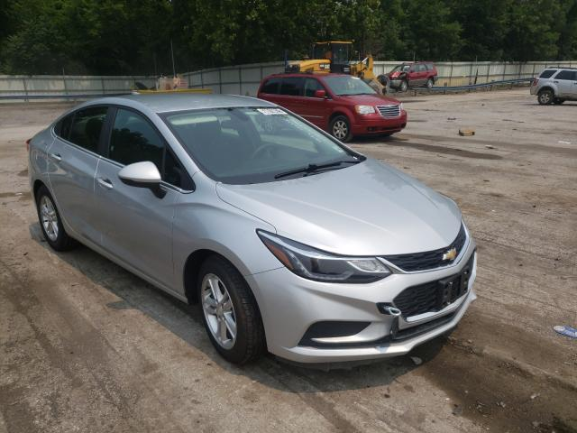 Salvage cars for sale from Copart Ellwood City, PA: 2018 Chevrolet Cruze LT