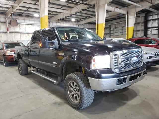 Salvage cars for sale from Copart Woodburn, OR: 2006 Ford F350 SRW S