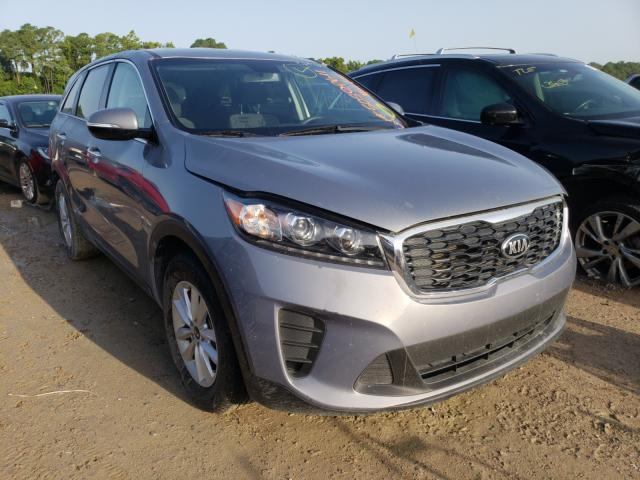 Salvage cars for sale from Copart Houston, TX: 2020 KIA Sorento S