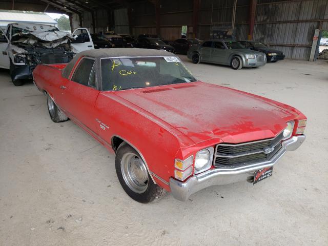 Chevrolet EL Camino salvage cars for sale: 1971 Chevrolet EL Camino
