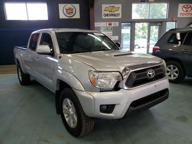 Salvage cars for sale from Copart East Granby, CT: 2013 Toyota Tacoma DOU