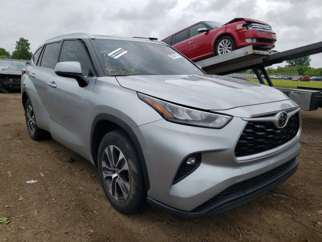 Salvage cars for sale from Copart Columbia Station, OH: 2020 Toyota Highlander
