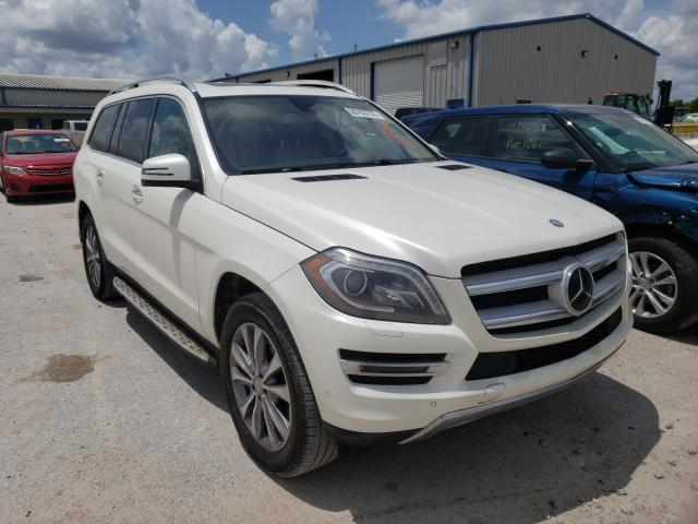 Salvage cars for sale from Copart Houston, TX: 2015 Mercedes-Benz GL 450 4matic