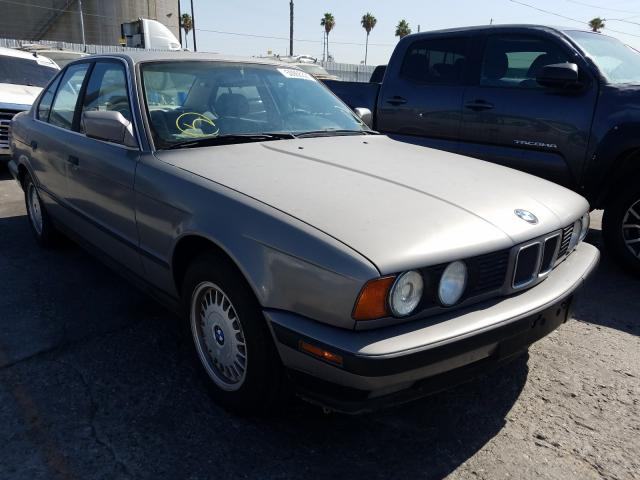 BMW 525 I Automatic salvage cars for sale: 1989 BMW 525 I Automatic