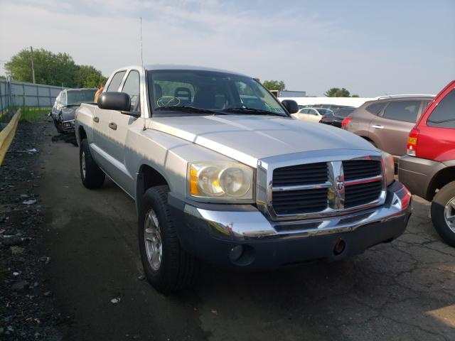 Salvage cars for sale from Copart Pennsburg, PA: 2005 Dodge Dakota Quattro